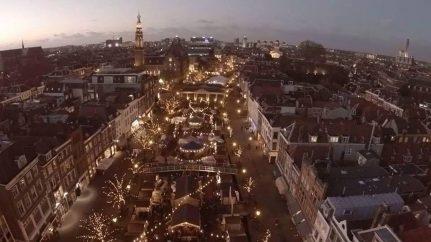 Drijvende kerstmarkt